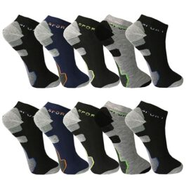 12-48 Paar Sneakersocken Mehrfarbig
