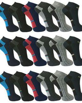 12-48 Paar Sneakersocken Füßlinge