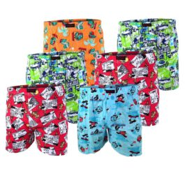 5er Pack Comic Boxershorts