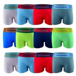 12er Pack Jungen Microfaser Shorts