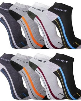 12-48 Paar Sneakersocken Sport